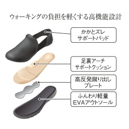 RakkuRakku/ラックラック 空飛ぶストレッチスリッポン