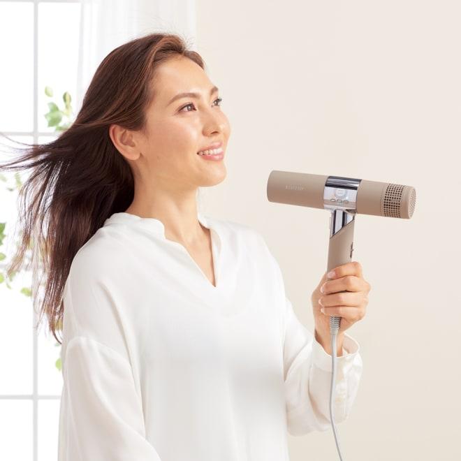 キヌージョ ヘアドライヤー 【KINUJO Hair Dryer】 (イ)モカ