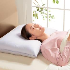 リラックスフィット枕 リッチ 本体 写真