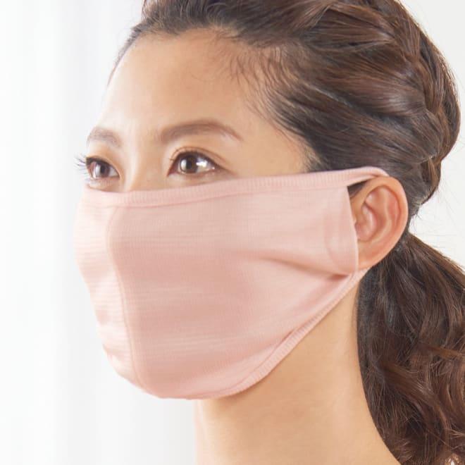 天使のカッペリーニ シルクマスク 選べる2枚組 (ウ)ピンク