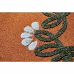 花柄ニードルパンチ刺繍チュニック