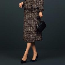 イタリア素材 ファンシーツイードシリーズ スカート
