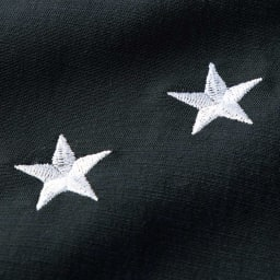 星柄 刺しゅう キャミソール ワンピース 星柄の刺しゅう