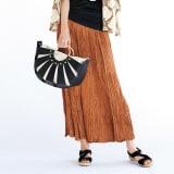 ランダムプリーツ スカート 写真