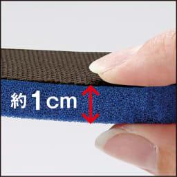 LaLaPocco カジュアルレインブーツ 厚み約1cm、ふかふかのインソール。 ※実際はインソールに柄が付いています。