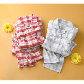 軽くてあったか中空糸パジャマ(綿100%・日本製) 写真