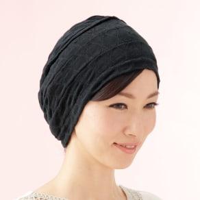 シルク100% 国産おうち帽子 写真