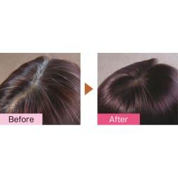 「利尻」ケアシリーズ カラーシャンプー 200ml 薬剤を使った一般的な白髪染めとは違い、脱色せずに髪表面を色付けるので髪が傷みにくい