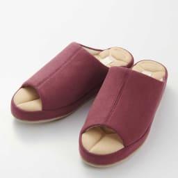 あとりえOKADA 靴屋が作った洗えるルームシューズ (オ)ピンク