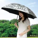 遮光涼感UVエレガント折りたたみ傘 写真