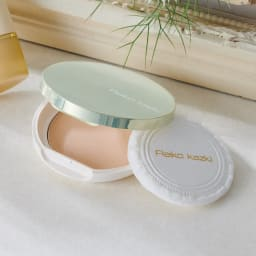 かづき UVシルクベールパウダープレスト コンパクトケース ※お届けはコンパクトケースのみです。