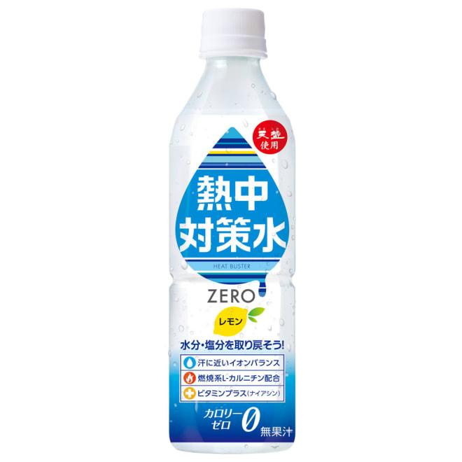 熱中対策水 (500ml×24本) (ア)レモン味