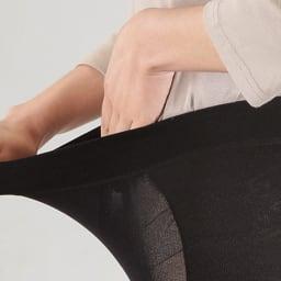 Locox はくだけスパッツ(薄型タイプ) のび~ よく伸びて締めつけにくい生地を使用。