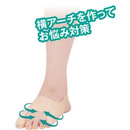 楽に歩ける足裏フットサポーター