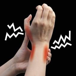 お医者さんの(R) 手首サポーターFit 2枚組 ズキッ!とくる親指・手首をセンタークロスボーンがしっかりサポート!