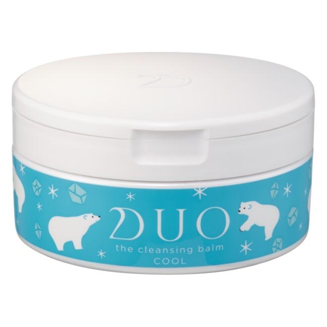 DUO/デュオ ザ クレンジングバーム クール 90g 涼感クレンジング! ほてり肌を引き締めたい方に、ひんやり爽快な洗い上がり