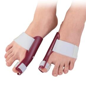 プラスウォーク 外反母趾矯正プロテクター 両足セット 写真