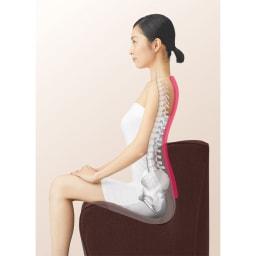 スタイル ドクターチェア プラス 腰にフィットして、腰のつらさにアプロ―チ。長時間座る時にもオススメです。