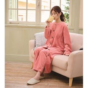 ふわふわ暖かロングパジャマ 写真