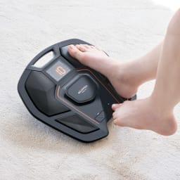 【送料無料】SIXPAD/シックスパッド Foot Fit(フットフィット) 電源を入れたら脚を置いて23分全自動のお手軽さ。