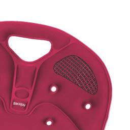 バックジョイ メディコアリリーフ レギュラー 持ち運びラクラク  椅子の上に置くだけ! APSテクノロジーと特殊素材を採用。座り心地も快適で、長時間座っても尾骨を圧迫せず痛みが出にくい設計です。