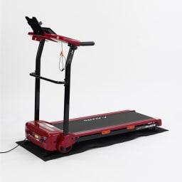 アルインコ/ALINCO ジョギングマシン AKJ2018 4種類のプログラムコース・体力評価プログラム搭載。目的や体力に合わせて手軽に運動が行えます。