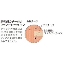 エクスボーテ エクスアーティスト スリースターズチーク(ブレンドオレンジ) 11g