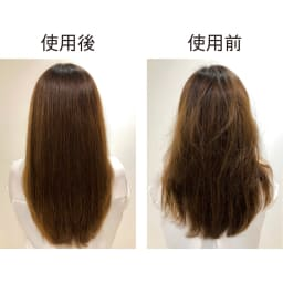 ラブクロム PG ナミ プレミアムブラック 静電気を拡散し枝毛を予防 特殊加工によって、静電気を吸着し拡散。静電気による髪の広がりを抑え、サラサラの髪に。静電気の放電による、枝毛の発生も予防します。