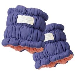 イオンドクター ボタニカルカラー 手首・足首ハーフウォーマー 2本組(巾着付き) 手首・足首用ハーフウォーマー。肘下や二の腕まで上げて使用しても。
