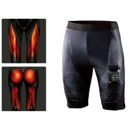 【送料無料】SIXPAD/シックスパッド パワースーツ ライト ヒップ&レッグ シックスパッド パワースーツ ライト ヒップ&レッグ EMSで太ももとヒップを同時にトレーニング。鍛えにくい下半身をすっきりさせたい人はもちろん、大きな筋肉を鍛えたい人に。健康的な引き締まった美ボディへ!