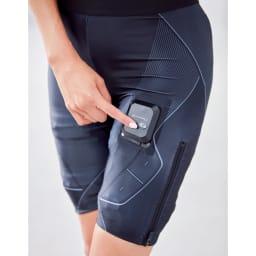 【送料無料】SIXPAD/シックスパッド パワースーツ ライト ヒップ&レッグ 内側の電極部分に水を吹きかければOK!動いても電極がずれにくい伸縮性の高い生地&独自設計で、どんな体形や動きにもしなやかにフィットし、快適なトレーニングをサポートします。