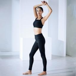 美姿勢ウェア Right Fit サイズが選べるトップス ショート+ボトムス ロングのセット