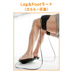 【送料無料】SIXPAD/シックスパッド Foot Fit Plus(フットフィットプラス) ココが進化! より広範囲に!「太ももorふくらはぎ」選べる2モード 太ももにある大腿四頭筋には股関節や膝を補助する役割があり、太ももを鍛えることは、足全体に関わると言えそう。足の筋肉の衰えが気になる方に!