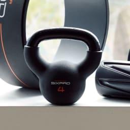 SIXPAD/シックスパッド フィットネスシリーズ ケトルベル 4kg 2個セット