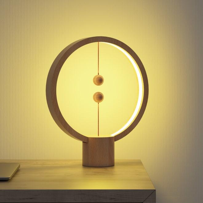 LEDライト 円形 使用イメージ お届けするのはこちらの丸形です
