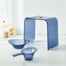 フォスキア バスシリーズ バスチェア&洗面器&手桶