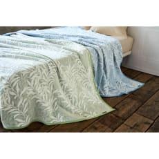 モリスギャラリー 綿毛布〈ウィローボウ〉 写真