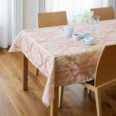 撥水加工 ジャカード織のクロスシリーズ テーブルクロス