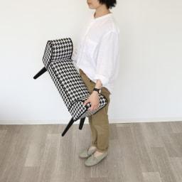スツールベンチ 幅66cm コンパクトサイズで移動の持ち運びが簡単