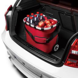 ライゼンタール キャリークルーザー(容量40L) ハンドルを一番縮めれば車に積みやすい大きさに。