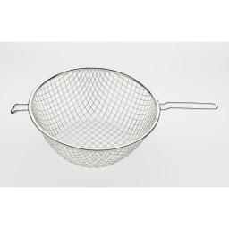鉄の揚げ鍋3点セット 揚げカゴ