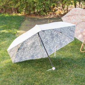 UV弾熱(R)加工 晴雨兼用傘 折りたたみ傘 写真