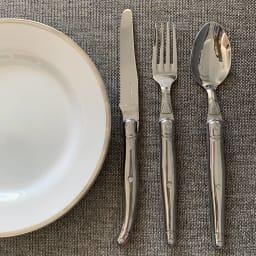 ジャンデュポ ライヨール ナイフ&フォーク&スプーン 3本セット (オ)ステンレス(ウェブ限定色)