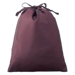コットンシルクのリラックスウェア 持ち運びに便利な専用ポーチ付き。 ※色は変更になる場合がございます。
