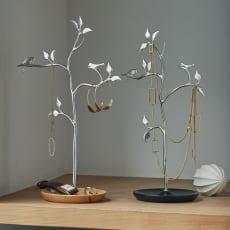 木と小鳥のアクセサリースタンド アクセサリー収納