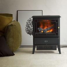 ディンプレックス 暖炉型ファンヒーター グラスゴー