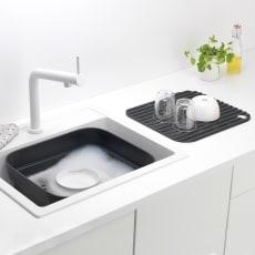 ブラバンシア ウォッシュアップボウル 洗い桶と水切りのセット(容量約8L)