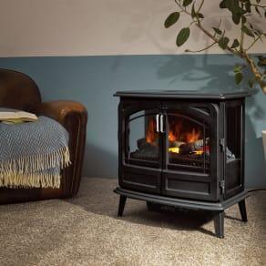 ディンプレックス 暖炉型ファンヒーター フォートローズII 写真