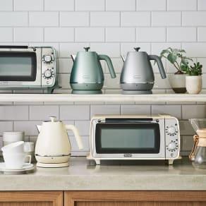 DeLonghi/デロンギ ディスティンタ ペルラ コレクション オーブン&トースター 写真