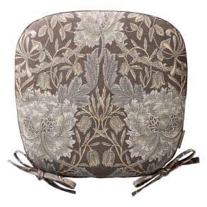 モリスデザインスタジオ ジャカード織シートクッション 機能素材タイプ ハニーサクル&チューリップ 写真